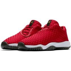 Chaussure de Basket Jordan Future Low rouge pour enfant