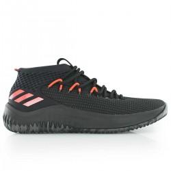 BB9242_Chaussures de Basketball adidas Dame 4 Noir ORG pour homme