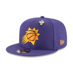 11609131_Casquette NBA Phoenix Suns New Era Draft 2018 Snapback 9fifty Violet