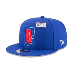 11609167_Casquette NBA Los Angeles Clippers New Era Draft 2018 Snapback 9fifty Bleu