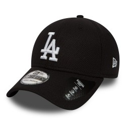 80581060_Casquette de Baseball MLB Los Angeles Dodgers New Era Diamond Era 39Thirty Noir