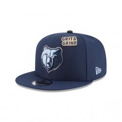 11609160_Casquette NBA Memphis Grizzlies New Era Draft 2018 Snapback 9fifty Noir