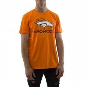 11569574_T-Shirt NFL Denver Broncos New Era Dryera Orange pour Homme