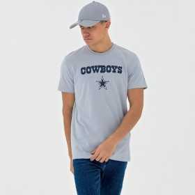11569575_T-Shirt NFL Dallas Cowboys New Era Dryera Gris pour Homme