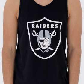11569578_débardeur NFL Oakland Raiders New Era Dryera Noir pour Homme