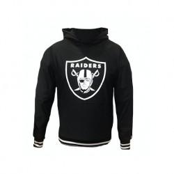 11569595_Sweat à capuche NFL Oakland Raiders New Era Dryera Hoody Noir pour homme