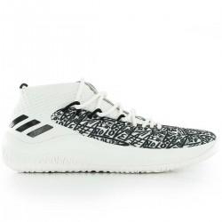 "AQ0597_Chaussures de Basketball adidas Dame 4 ""Summer pack"" Blanc pour homme"