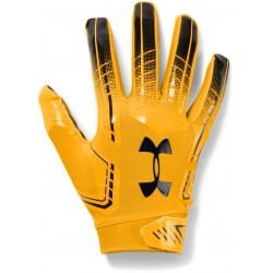 1304694-750_Gant de Football Americain Under Armour F6 Pour Receveur Jaune