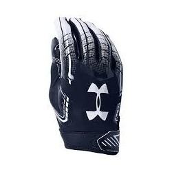 1304694-410_Gant de Football Americain Under Armour F6 Pour Receveur Navy