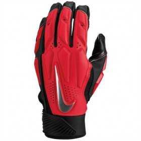 83820_Gant de Football Américain Nike D-Tack 6.0 rouge pour Linemen