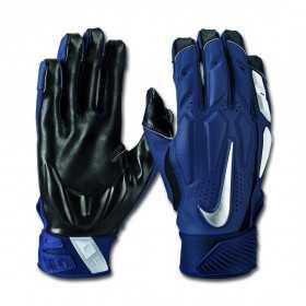 Gant de Football Américain Nike D-Tack 6.0 Navy pour Linemen