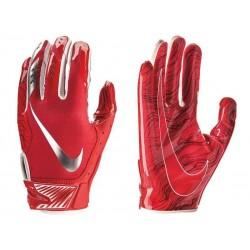 Gant de football américain Nike vapor Jet 5.0  pour receveur Rouge