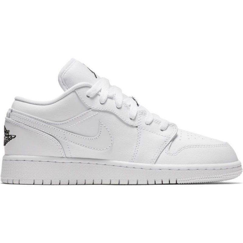 air jordan 1 low blanc noir