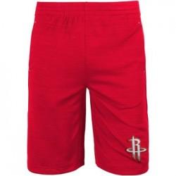 EK2B7BBALHR_Short NBA Houston Rockets Rouge pour enfant