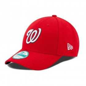 10047560_Casquette de Baseball MLB Washington Nationals New Era The League 9Forty Adjustable Rouge
