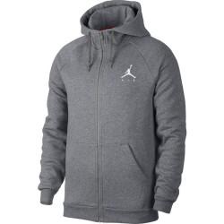 939998-091_sweat à capuche Zippé Jordan Jumpman Fleece Gris pour homme