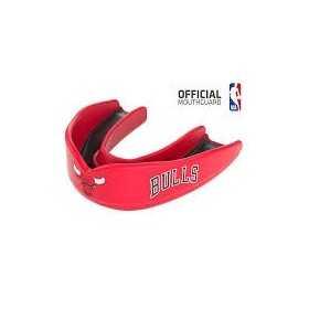 Protège dent Basketball Shock Doctor Chicago Bulls Rouge Pour Hommes