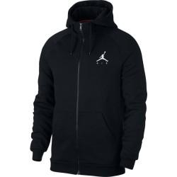 939998-010_sweat à capuche Zippé Jordan Jumpman Fleece Noir pour homme