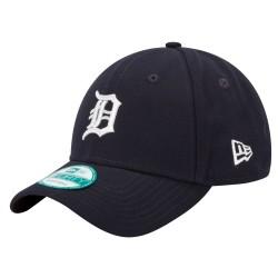 10047523_Casquette de Baseball MLB Detroit Tigers New Era The League 9Forty Adjustable Bleu Navy