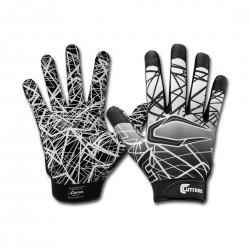 S150-03-13_Gant de football américain pour enfant Cutters S150 Noir pour receveur