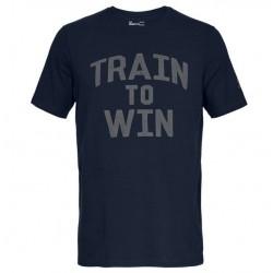 1280845-408_T-shirt Under Armour Train To Win Bleu marine pour Homme