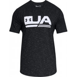 1318562-001_T-shirt Under Armour Sportstyle 2018 Noir pour Homme