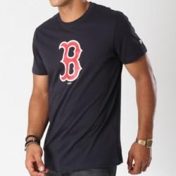 T-Shirt MLB Boston Red Sox Essencial New Era Navy Pour Hommes