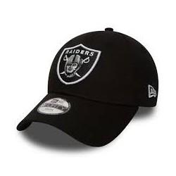 Casquette NFL pour enfant Oakland Raiders New Era Essential 9Forty Noir