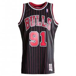 Maillot NBA swingman Dennis Rodman Chicago Bulls 1997-98 Hardwood Classics Mitchell & ness noir