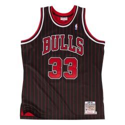 Maillot NBA swingman Scottie Pippen Chicago Bulls 1995-96 Hardwood Classics Mitchell & ness noir