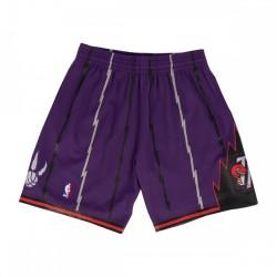 MN-NBA-540B-TORRAP_Short NBA Toronto Raptors 1998-99 Mitchell & Ness Swingman Violet pour Homme