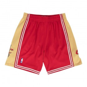 MN-NBA-540B-CLECAV_Short NBA Cleveland Cavaliers 2003-04 Mitchell & Ness Swingman Rouge pour Homme
