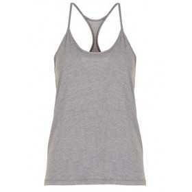 Women's Under Armour Heatgear Solid Fashion tank Grey