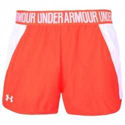 Short Under Armour play up 2.0  Corail  pour femme