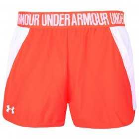 Short Under Armour play up 2.0  Corail  pour femme