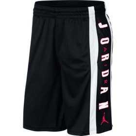 Short de basketball Jordan Rise 3 Noir Infrared Pour Homme