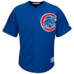 Maillot MLB Chicago Cubs Replica Cool Base Royal Pour Hommes