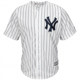 Maillot MLB New-York Yankees Replica Cool Base Blanc Pour Hommes