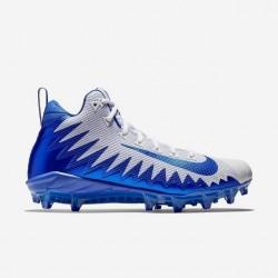 871451-144_Crampons de Football Americain Nike Alpha Menace Pro Mid Bleu