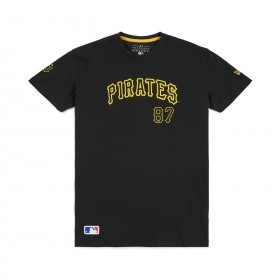 11603990_T-Shirt MLB Pittsburgh Pirates  New Era Team Apparel Script  Pour Hommes