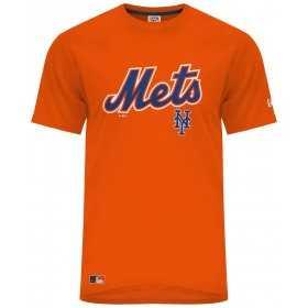 11604144_T-Shirt MLB New-York Mets Cooperstown New Era Orange Pour Hommes