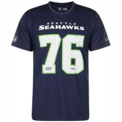 11605884_T-Shirt NFL Seattle SeaHawks New Era Supporters 2018 Pour Hommes