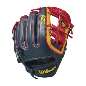 A2KRB81DTdude_Gant de Baseball Wilson A2K Brandon Phillips Game Model Bleu