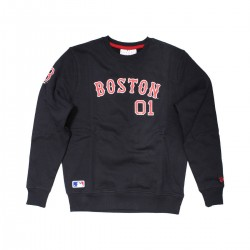 11604006_Sweat MLB Boston Red Sox New Era Team Apparel Script bleu marine pour homme