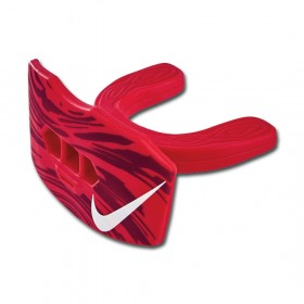 83832-610_Protège dent + protège lèvre Nike Gameday Adulte rouge