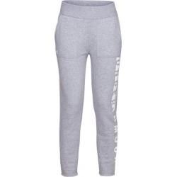 1317858-035_Pantalon de Jogging Under Armour Rival toison Gris pour Femme