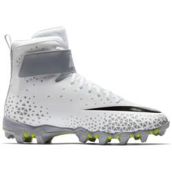 880109-105_Crampons de Football Americain moulés Nike Force Beast Shark blanc