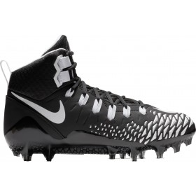 880144-012_Crampons de Football Americain moulés Nike Force Savage Pro Noir wht