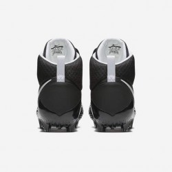 innovative design 567b6 e1ec7 ... 880144-012 Crampons de Football Americain moulés Nike Force Savage Pro  Noir wht ...