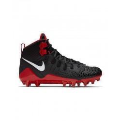 880144-061_Crampons de Football Americain moulés Nike Force Savage Pro Rouge